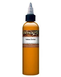 Yellow Orchid - Mike Demasi Series - Intenze Tattoo Ink - Pick Your Size 1oz, 2oz, or 4oz Bottle