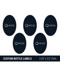 Custom Tattoo Station Bottle Label Sheet