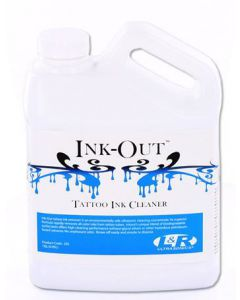 INK-OUT Tattoo Tube Cleaner - Step 2 Clean Station Pro System