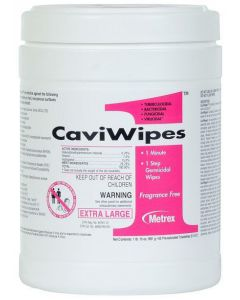 "One Tub of 160 Count 6 x 6.75"" CaviCide Surface Disinfectant Wipes"