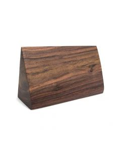 Sloped Wooden Block Display — Sono Wood