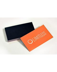 Silk Laminated Specialty Business Cards – Quantity 500+