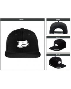 Painful Pleasures Black Snapback by Sport-Tek®