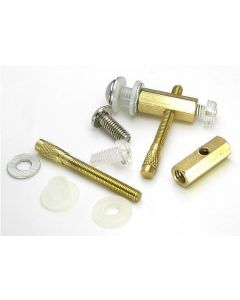 Entire Front Binding Post Set Up for Tattoo Machines - 7 Pieces - Tattoo Supplies