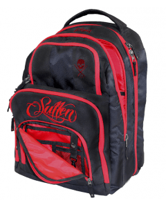 Sullen Onyx Redline Blaq Paq Tattoo Travel Bag Front