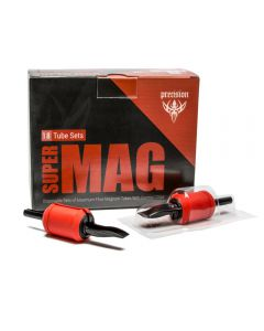 "Super Mag Tube & Grip Sets – 1"" Magnum Disposable Grips – Box of 18"