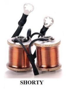 Hex Top 8 Wrap 24g Essex Wire Shorty Coils - Shader or Liner - Baltimore Street Irons