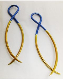 18g - 6g Titanium or Niobium Ribbon Custom Anodized