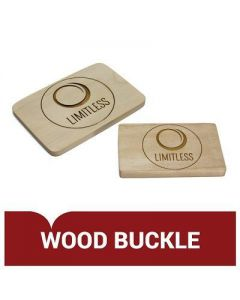 Wood Belt Buckle