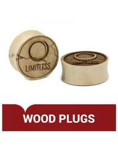Engraved Wood Plug