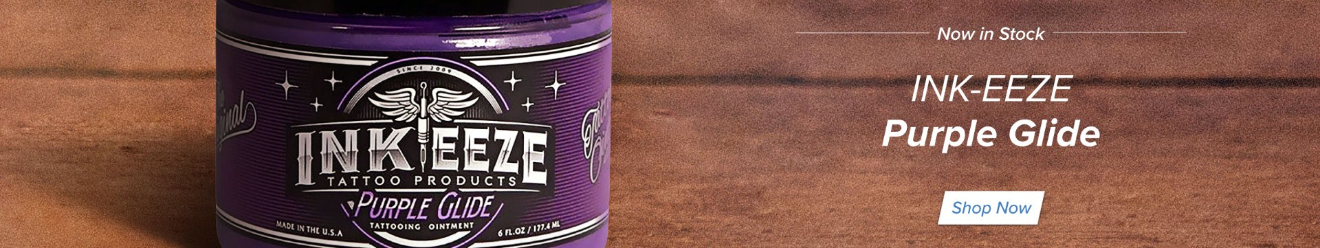 INK-EEZE Purple Glide Tattooing Ointment