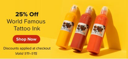 World Famous Ink Sale